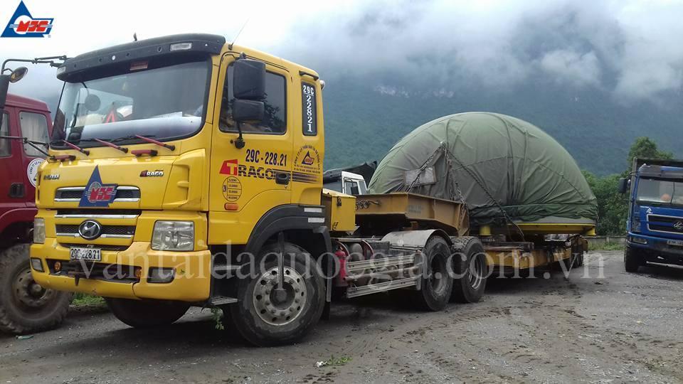 MJCT đã vận chuyển và bàn giao thành công lô hàng nặng thứ 6 của dự án Thuỷ Điện Sông Lô 2, Tỉnh Hà Giang